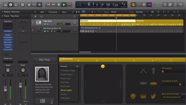 Using And Customising Drummer In Logic Pro X