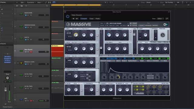 13 Making Sub Basses In Massive