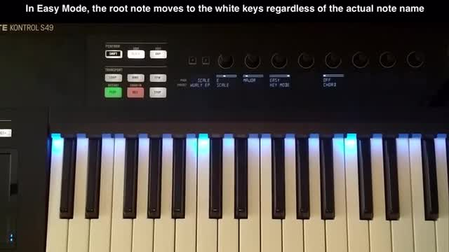 Kontrol S Keyboard Scale Modes Explained