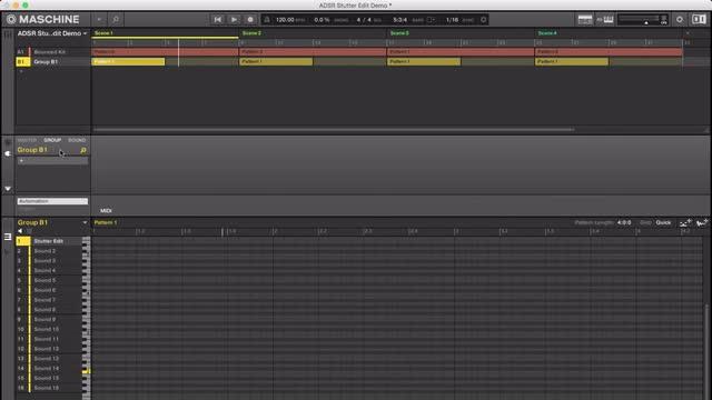 Stutter Edit In Maschine