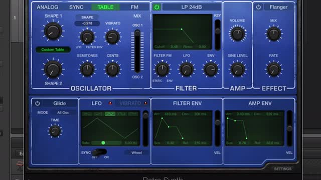 09 Oscillator Sync - Wavetable And Fm Synthesis With Retro Synth