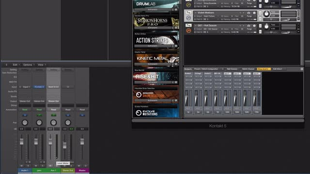 08 Using Kontakt In Logic Pro X