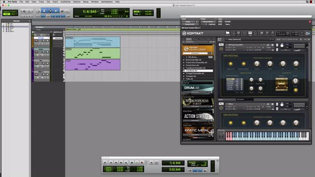 07 Using Kontakt In Pro Tools