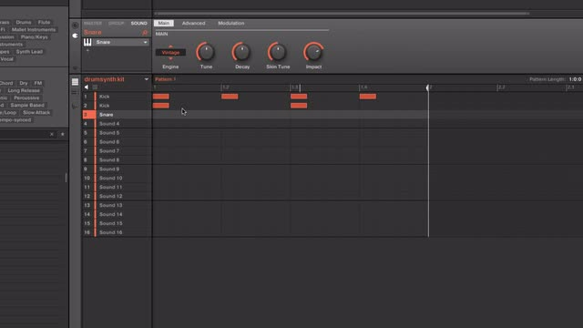 Working With Drum-synth Part 1