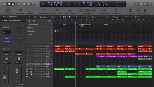 06 Creating And Arrangement Track