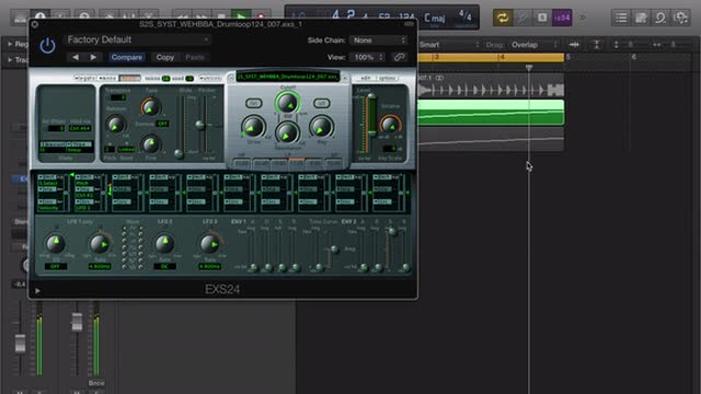08 Rexing Drum Loops Using Exs24