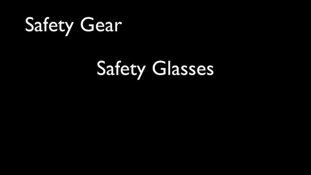 07 Safety Gear