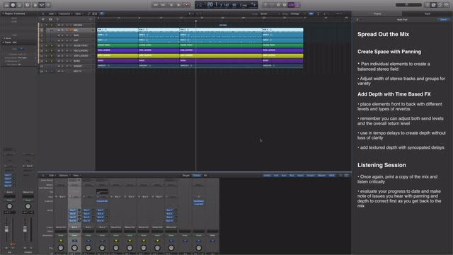 Fundamental Mix Workflow