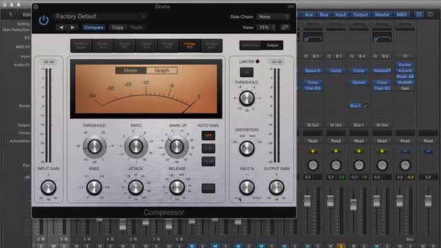 11 Drum Bus Processing