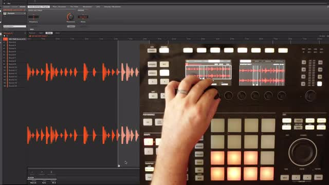 Live Sampling With Maschine