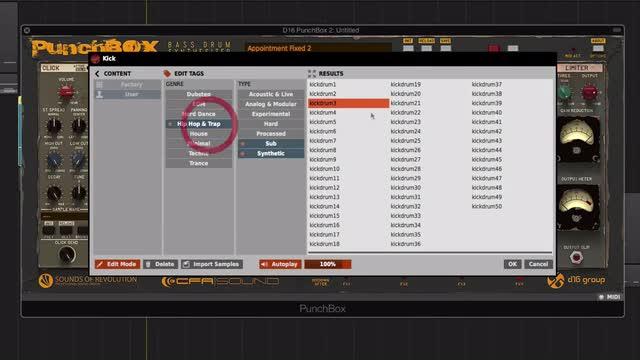 07 Presets & Sample Browser, Import & Export