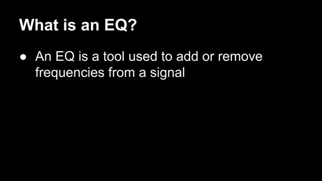02 What Is An Eq