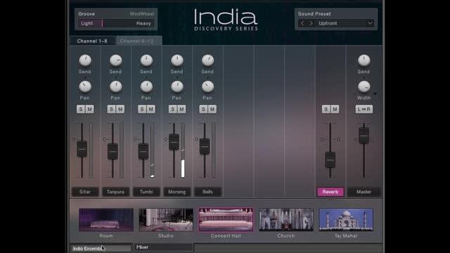 India - Kontakt Instrument