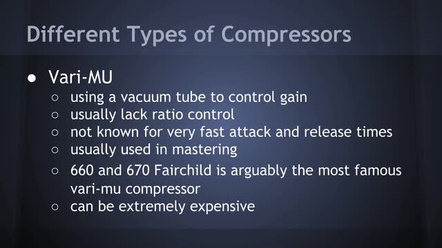 02 Different Compressor Types