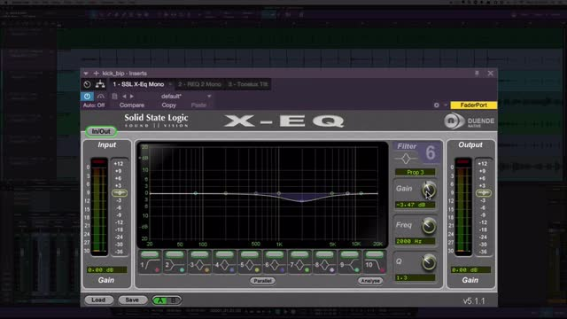 11 Different EQ Curves Shown