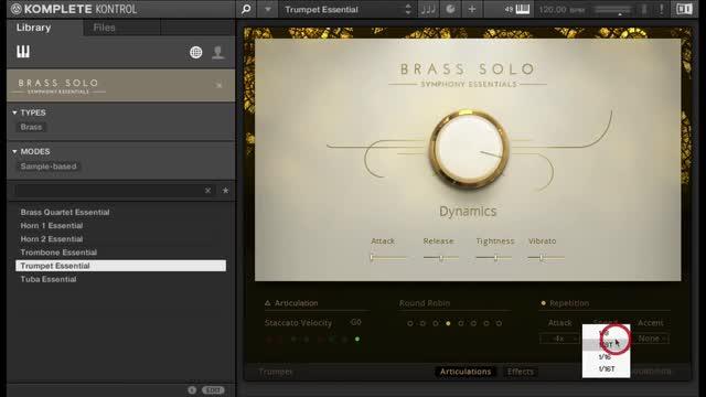 Brass Solo
