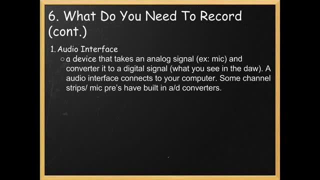 17 Audio Interface