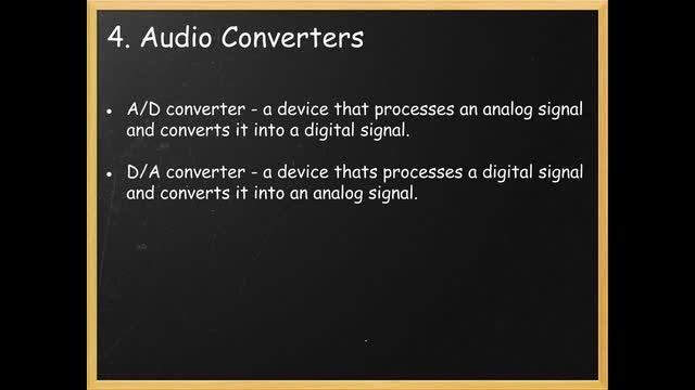 11 Audio Convertors