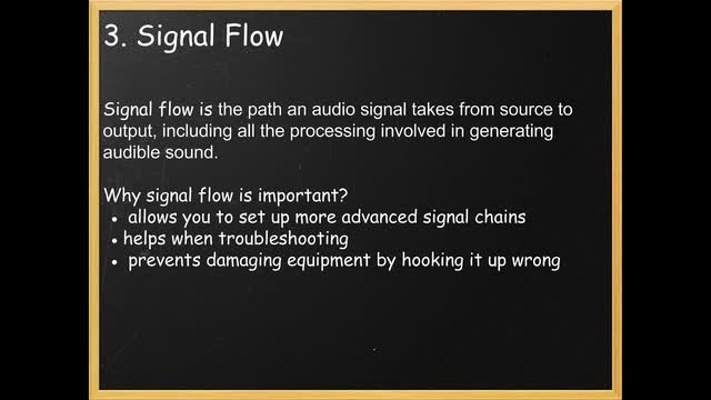 07 Basic Signal Flow