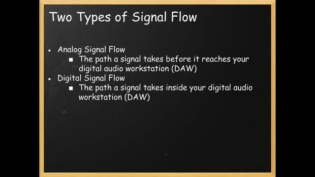 04 Types Of Signal Flow