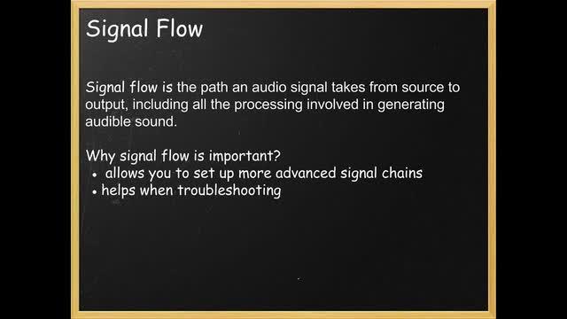 02 Signal Flow