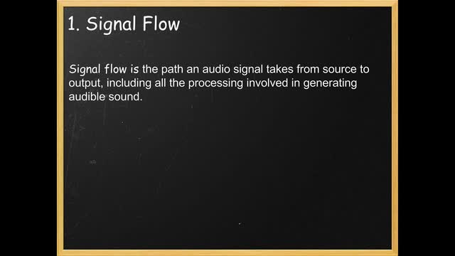 01 Signal Flow