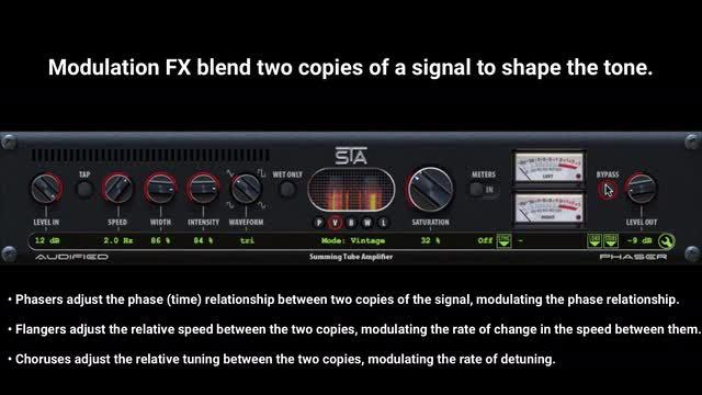 STA Delay, Modulation FX