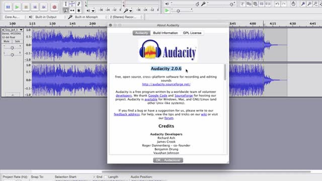 04 Versions Of Audacity
