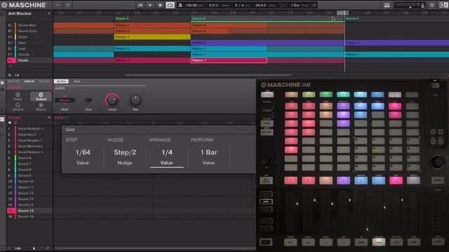 4.2 Looping, Arrange & Perform Grid