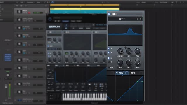 Key-tracking Serum's filter