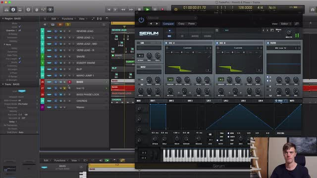 04 Oscillator Phase Lock - Phase Randomization, Channel EQ