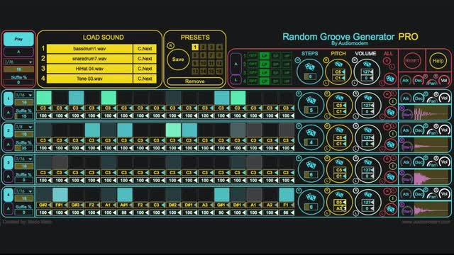 Max for Live - Random Groove Generator | ADSR Music