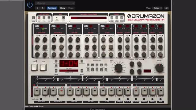 03 Drum controls