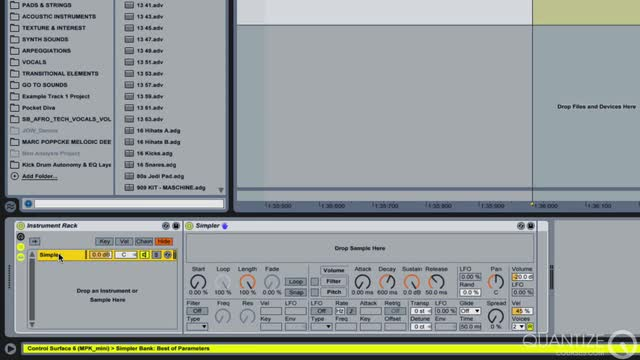 14 Bouncing and Creating An Instrument