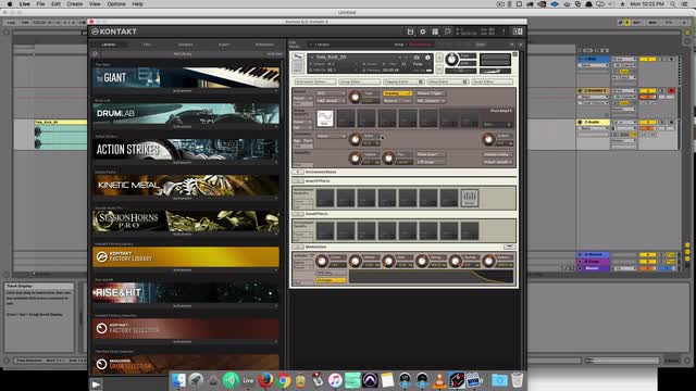 Make drums larger then any other plugin with Kontakt