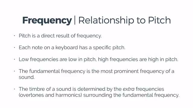 08 Frequency & PItch