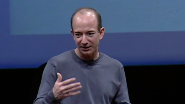Jeff Bezos on the next web innovation