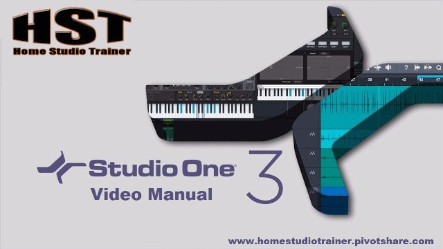 Studio One Video Manual - Editing Events