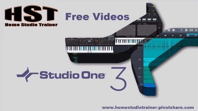 Studio One X Mixer and Console Presets