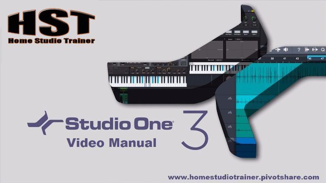 Studio One Video Manual - The Start Page