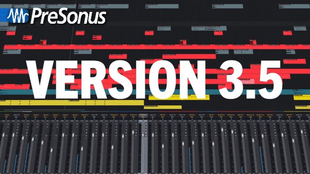 Studio One 3.5 (What's New)