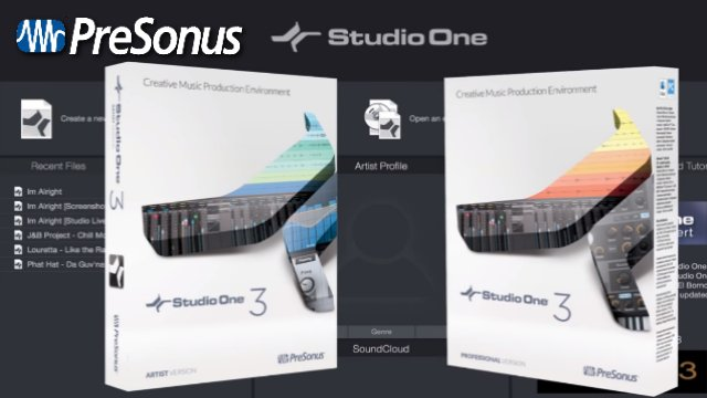 Studio One 3 (Compare Versions)