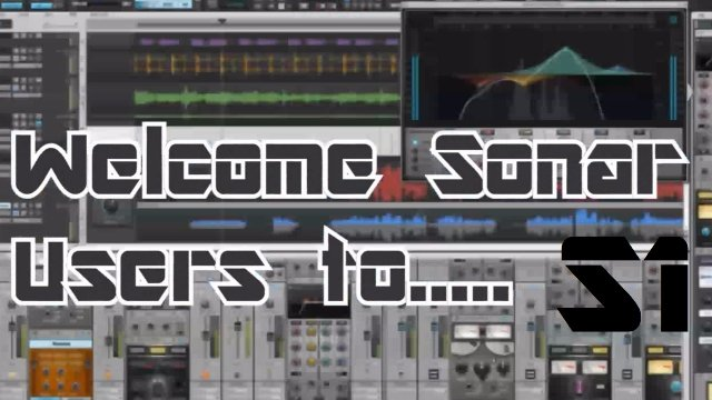 Studio One MIDI Basics - Sonar Users Special