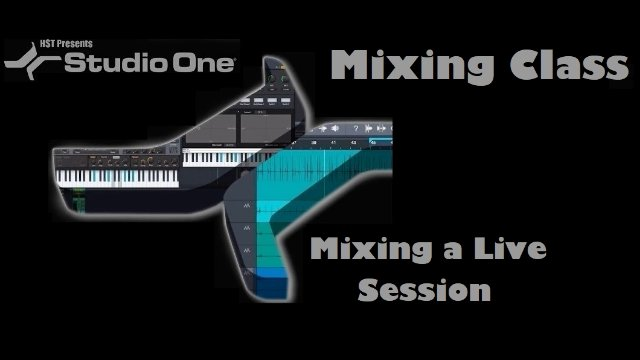 Mixing a Live Session Part 8 - Saving Tips