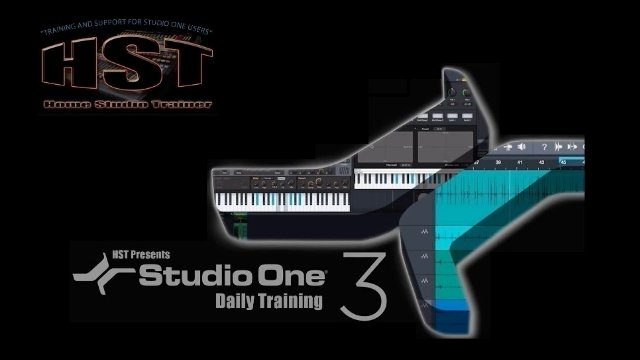 Time Stretch-Changing the tempo of an Event-Studio One Daily Training