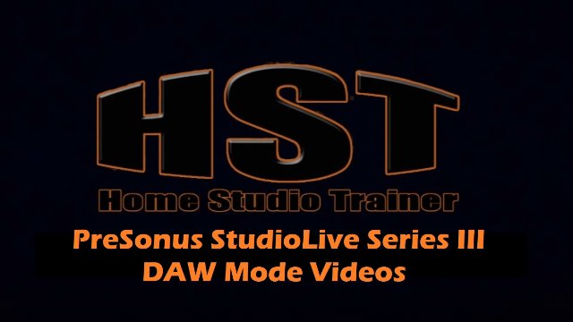 DAW Mode Mixer Sync with Studio One - Hiding Tracks