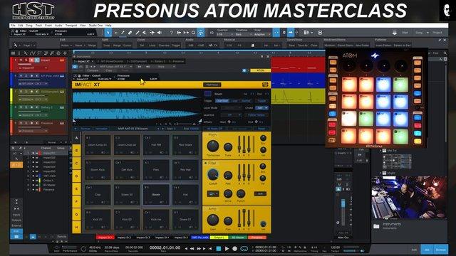 Assigning MIDI Pressure
