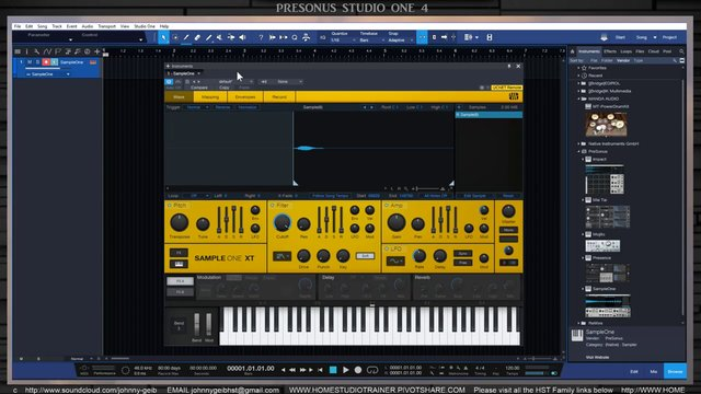 Sample One - Recording and Playback