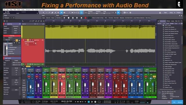 Audio Bend