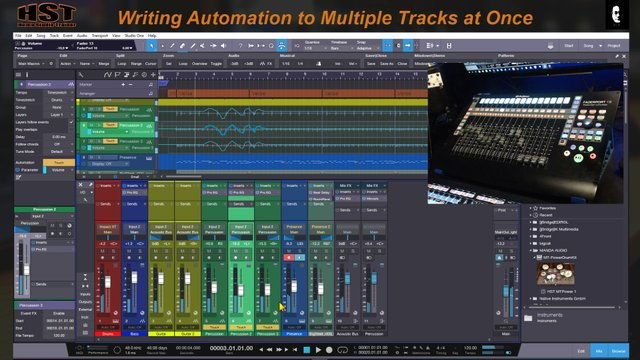 Automation to Multiple Tracks at Once